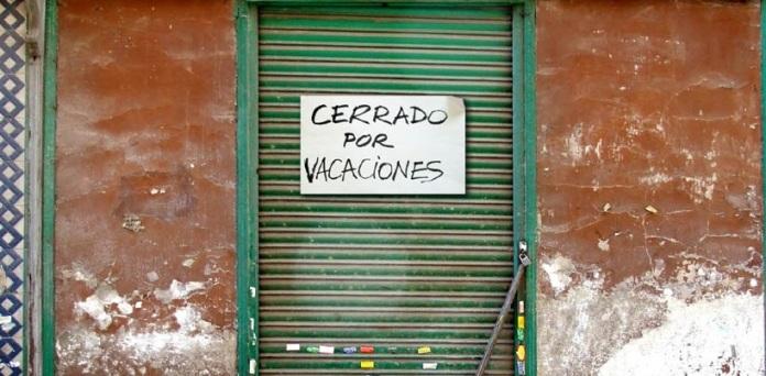 cerrado por vacaciones madrid orejas de punta